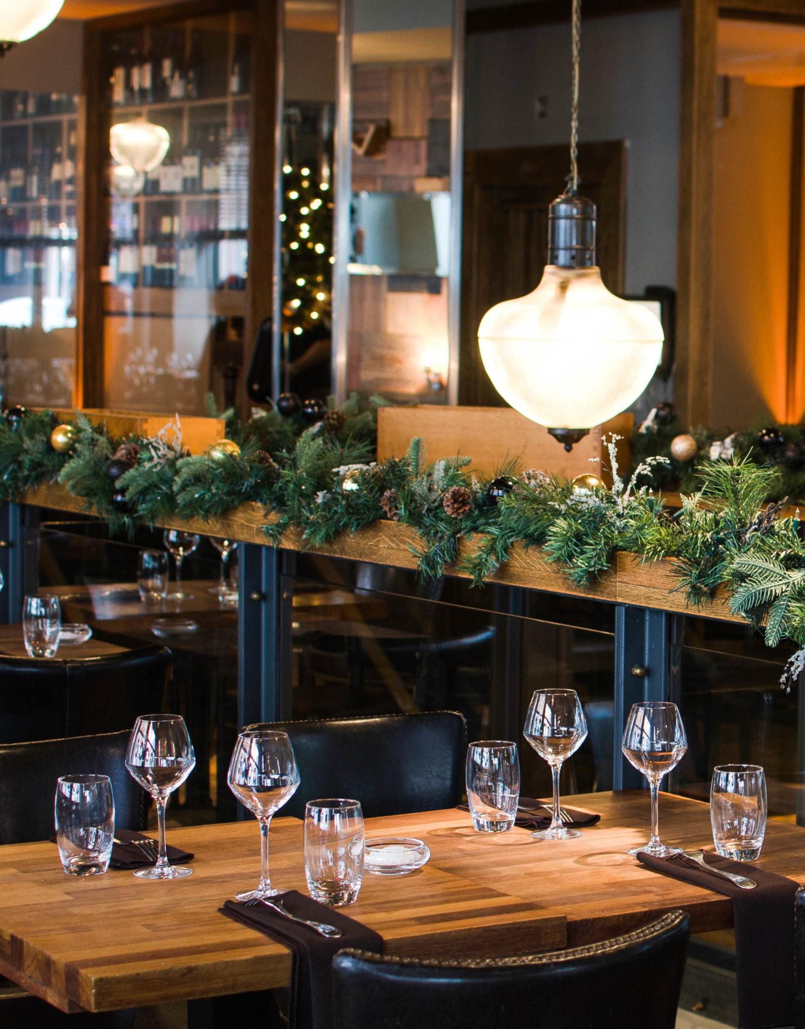 Christmas Restaurant Dublin