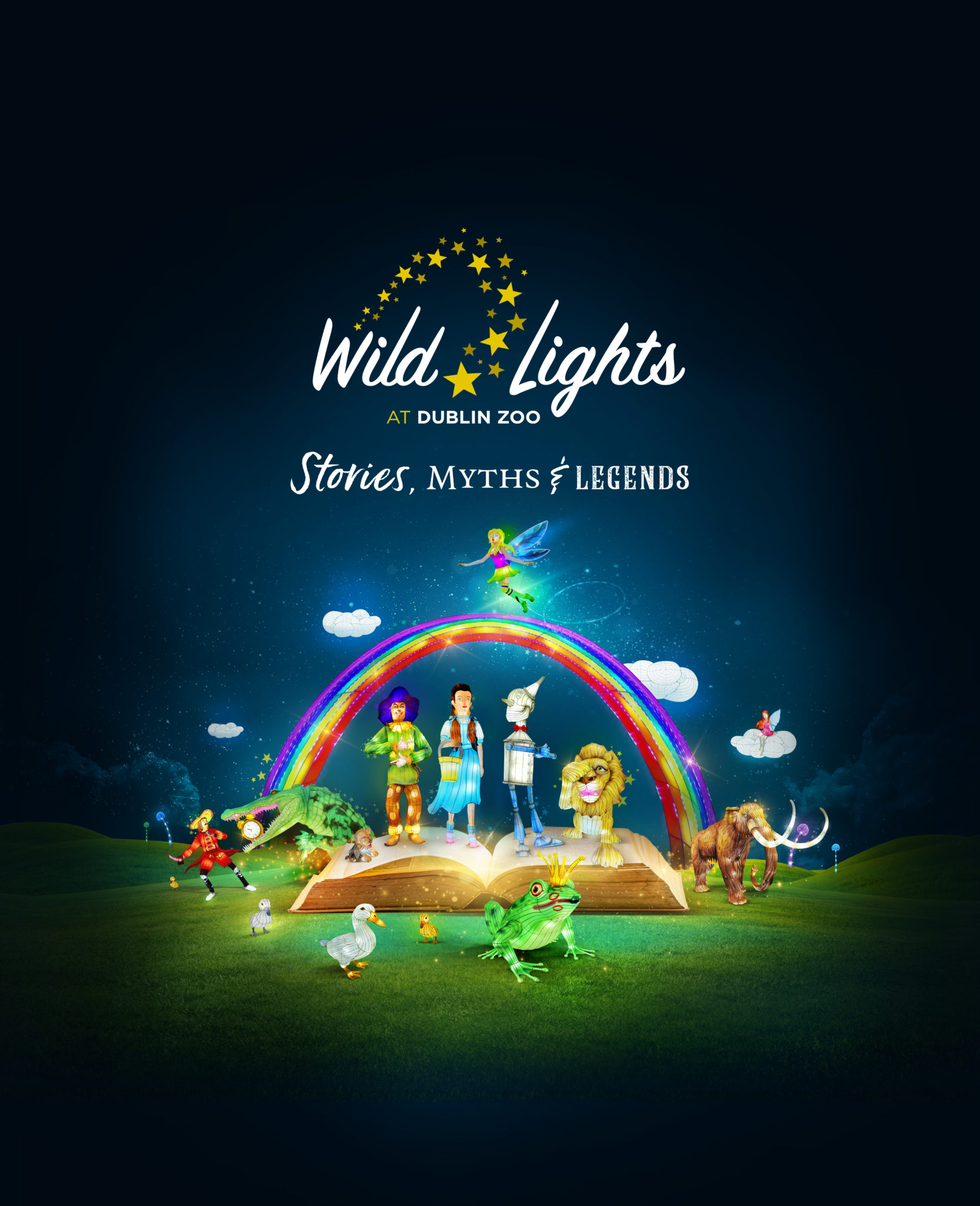 Wild Lights 2019, Wild Lights, Dublin Zoo.