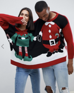 two person christmas jumper asos