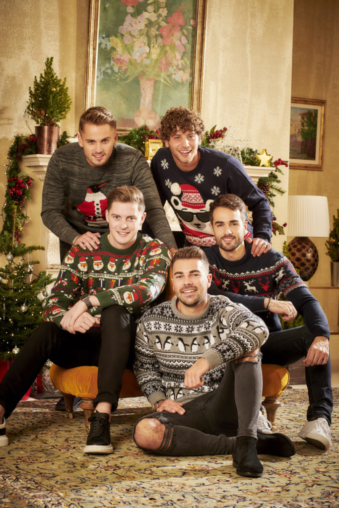 A Christmas Reunion.Exclusive Photos Revealed From The Love Island Christmas