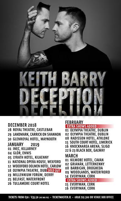 Keith Barry, Deception,