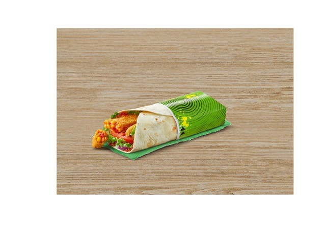 McDonald's, Vegetarian, Spicy Vegetable Wrap, Happy Meal,