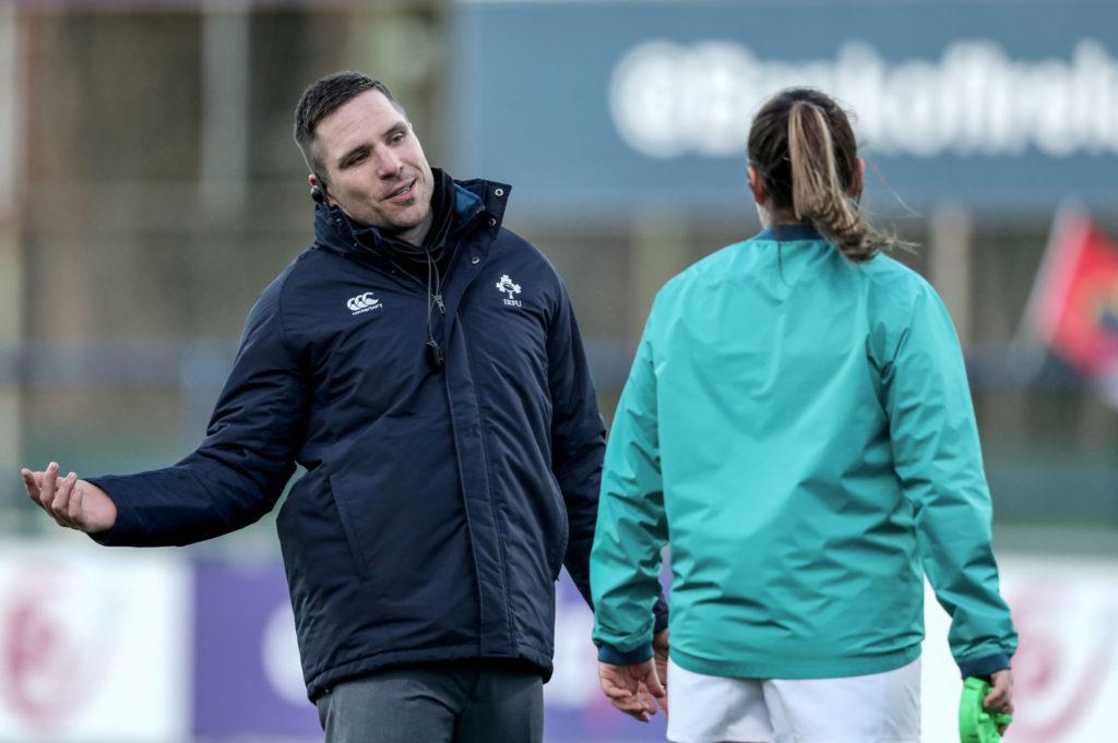 Adam Griggs, Ireland, England, Women's Six Nations