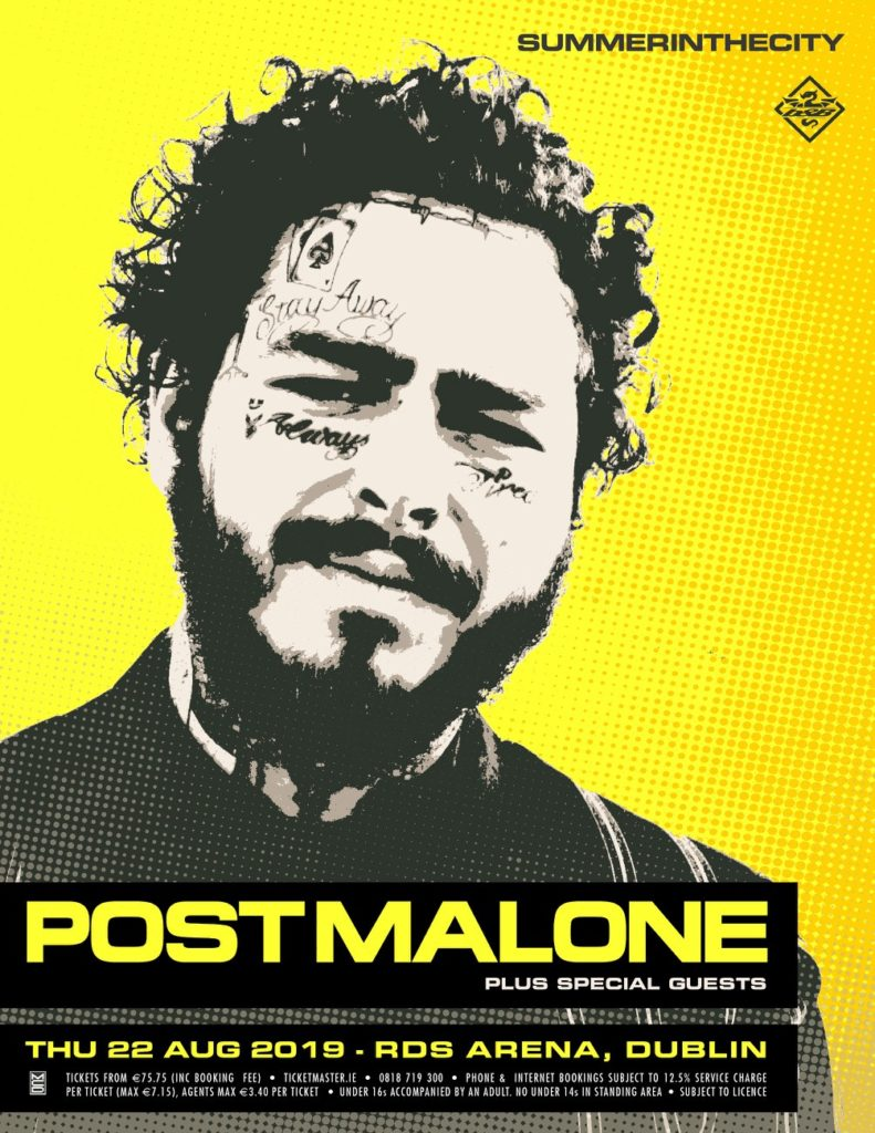 Post Malone Is Playing An Outdoor Gig At The RDS This Summer