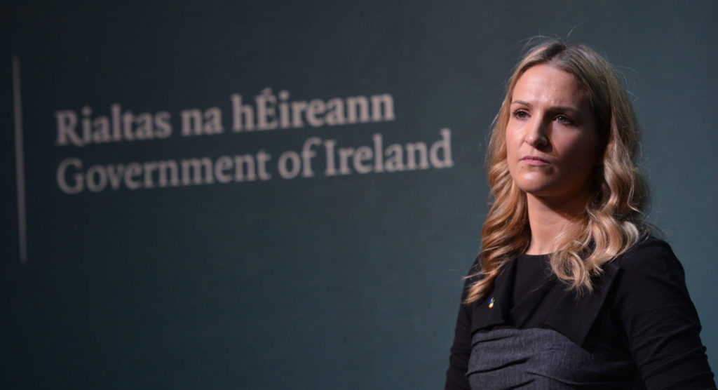 Minister of State for European Affairs Helen McEntee