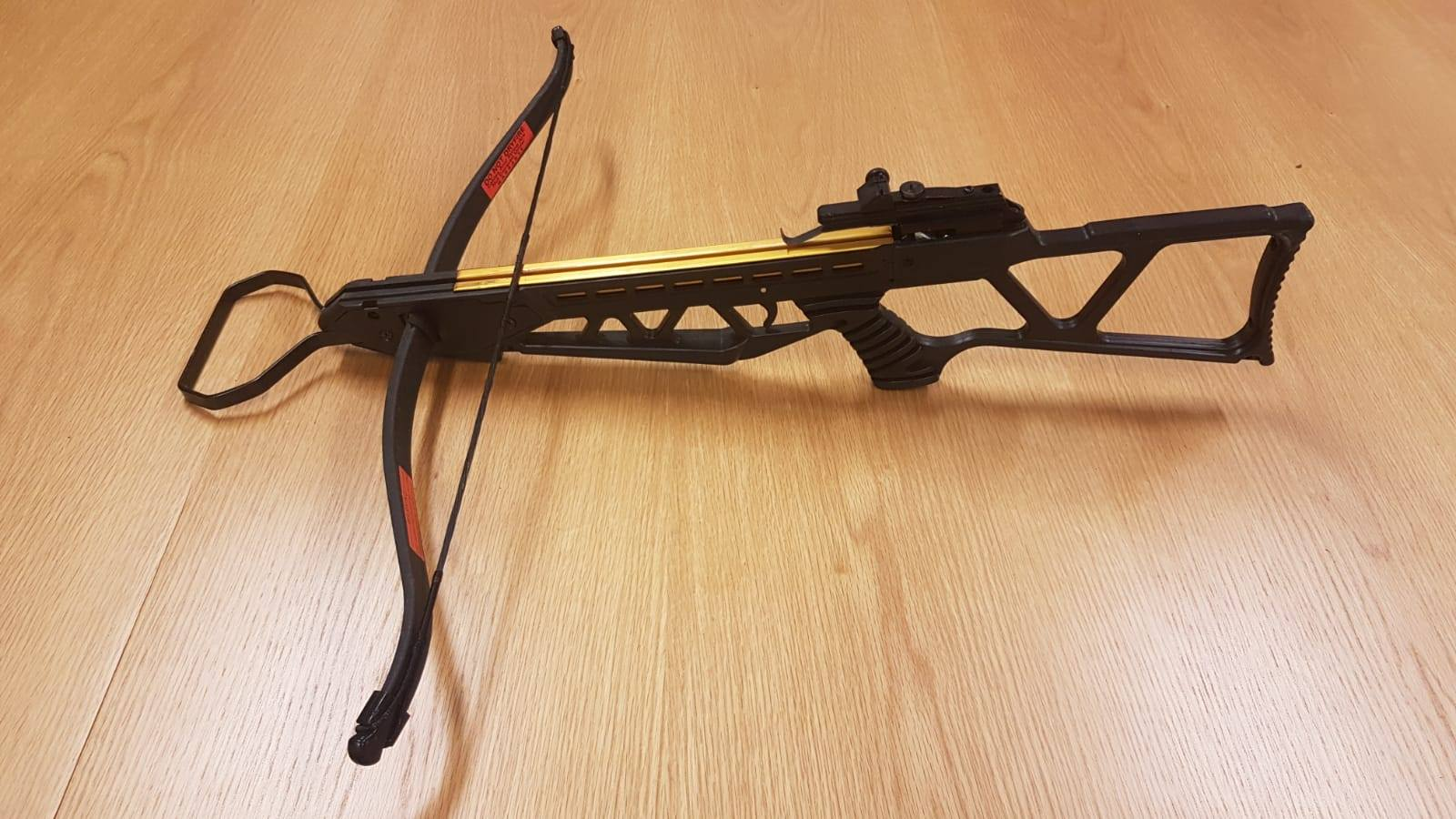 A crossbow seized in west Dublin