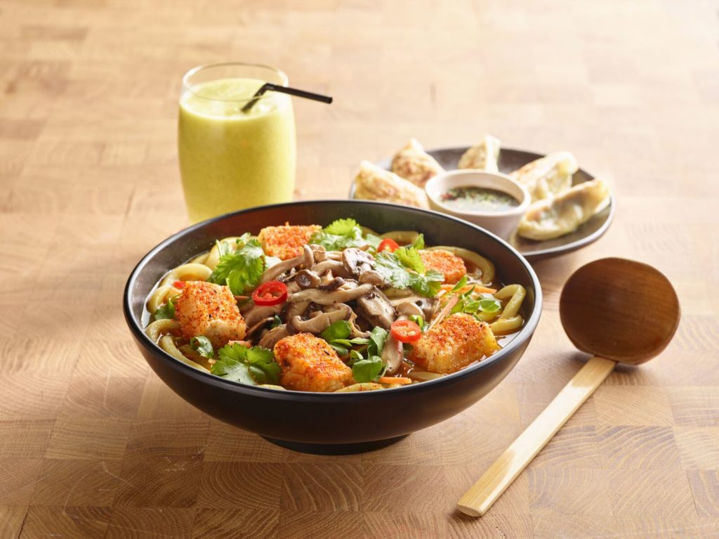 wagamama Ireland has launched a new vegan menu