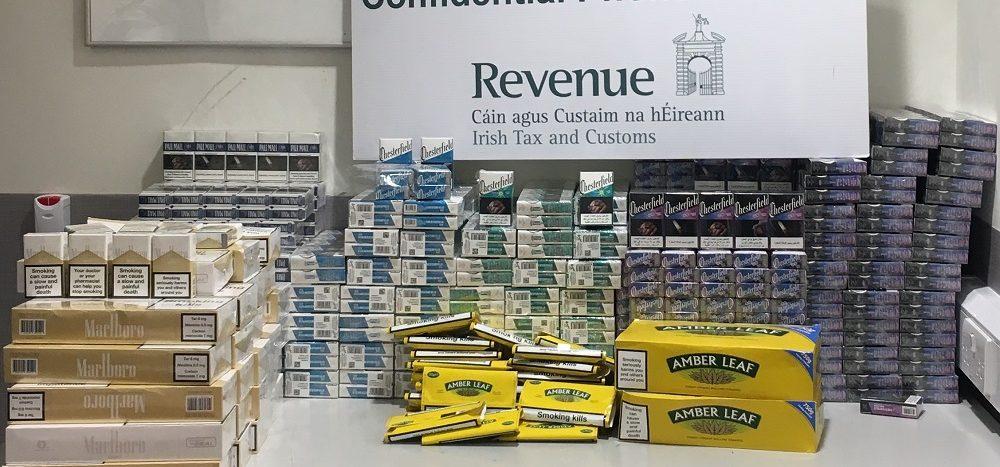 Cigarettes Worth €20,000 Seized