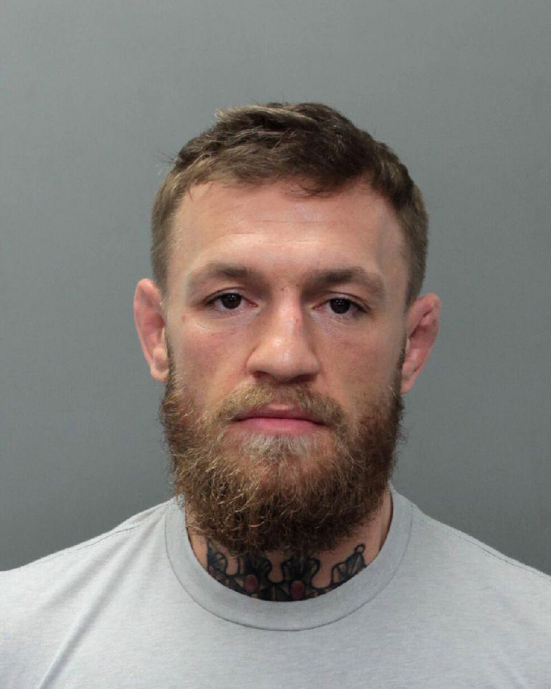 mcgregor arrested