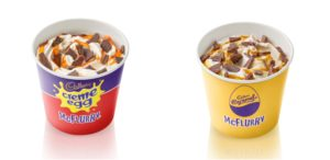 Creme Egg McFlurry