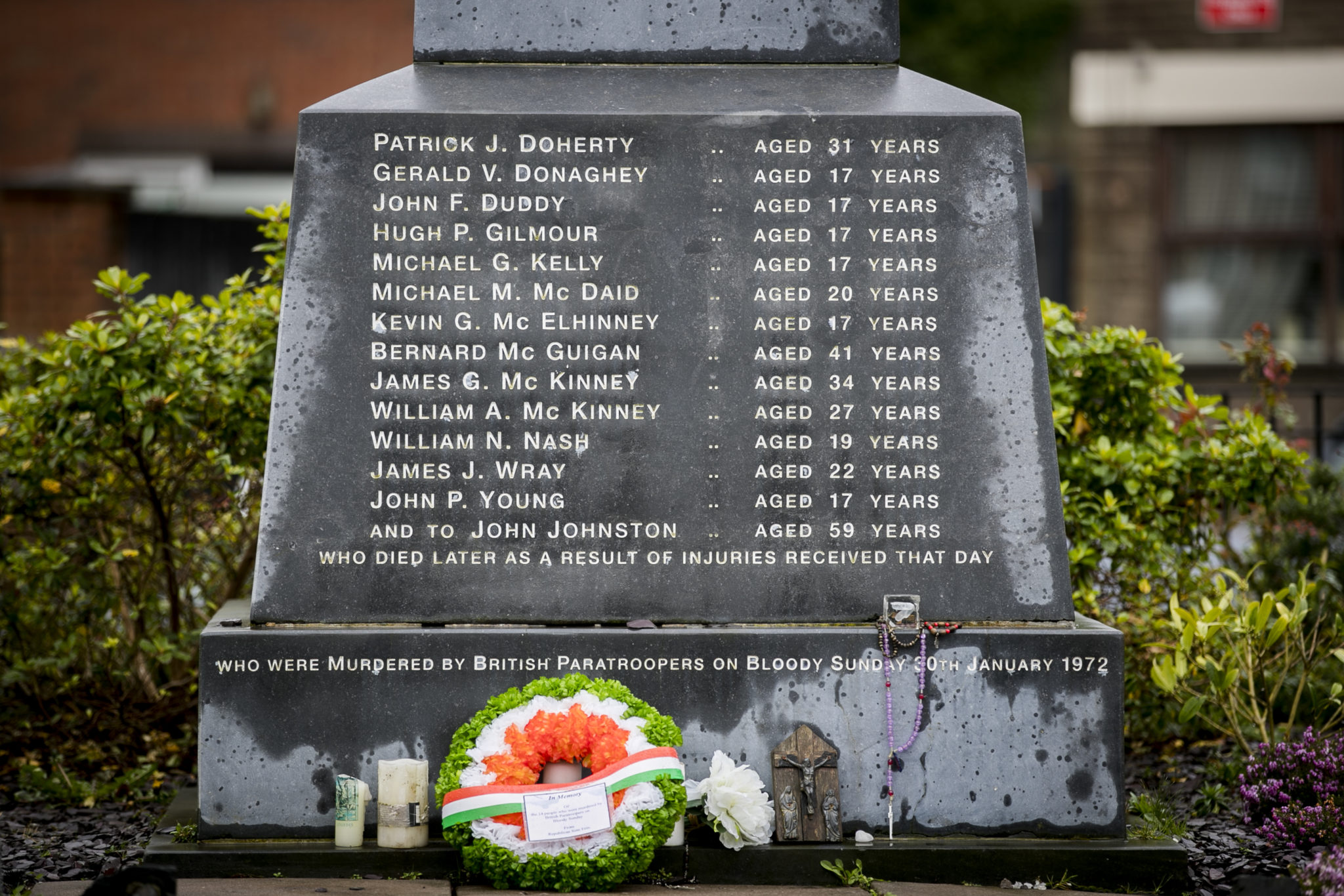 Derry awaits decision on 1972 killings — Bloody Sunday