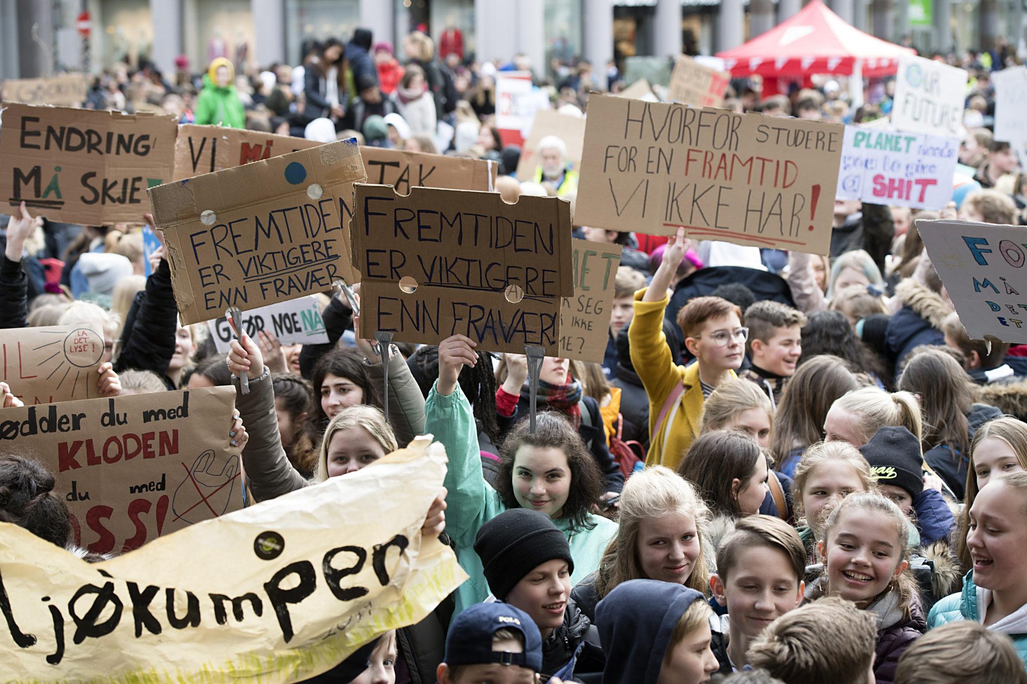 Norway Climate Strike