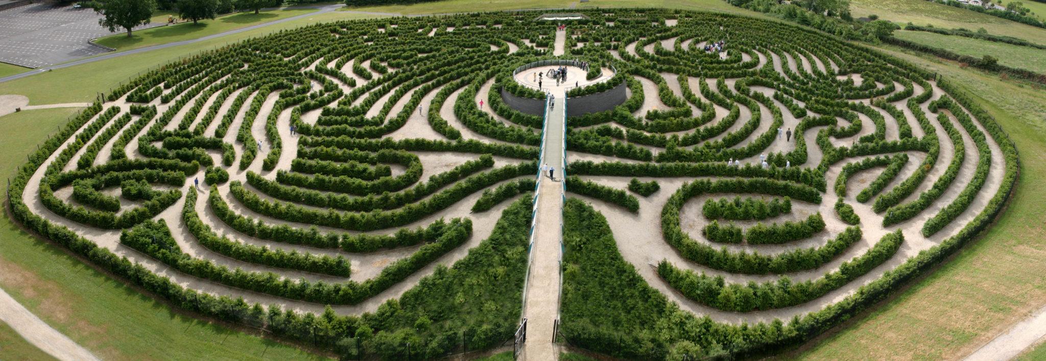 Peace Maze Castlewellan Forest Park Northern Ireland