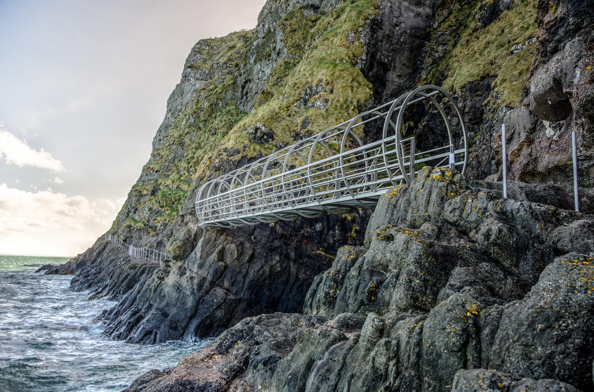 Gobbins Cliff Path Northern Ireland