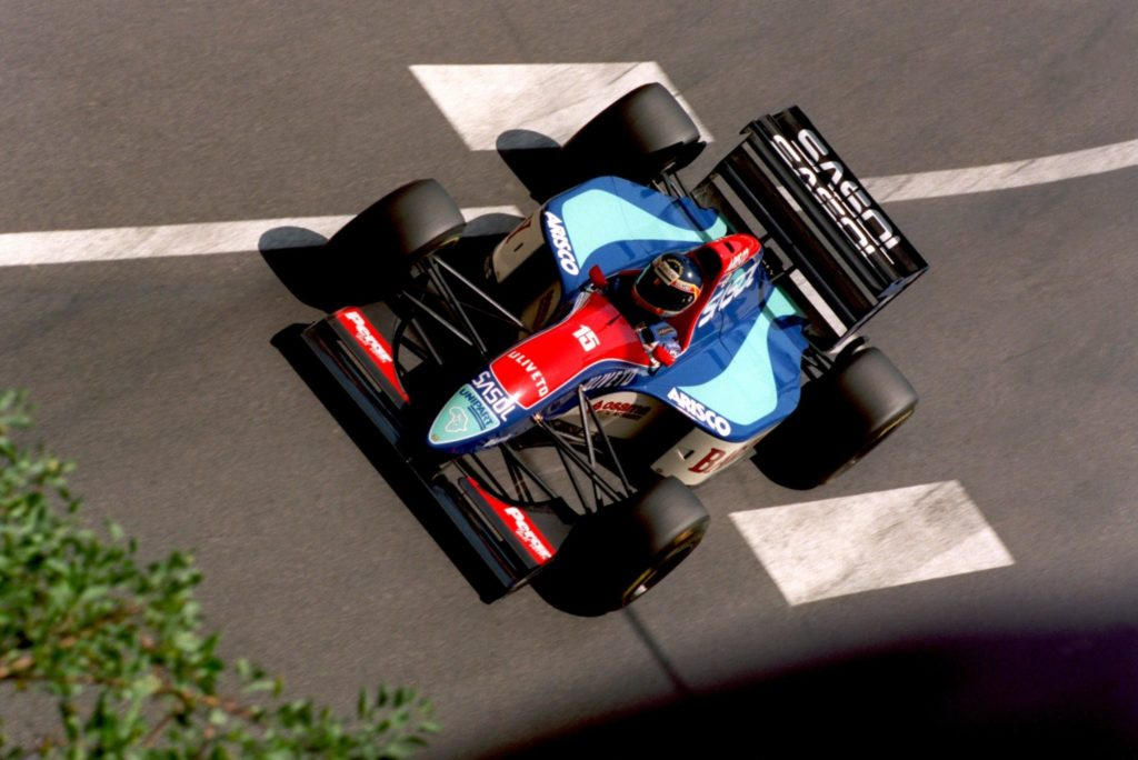 Thierry Boutsen, Jordan, 1993