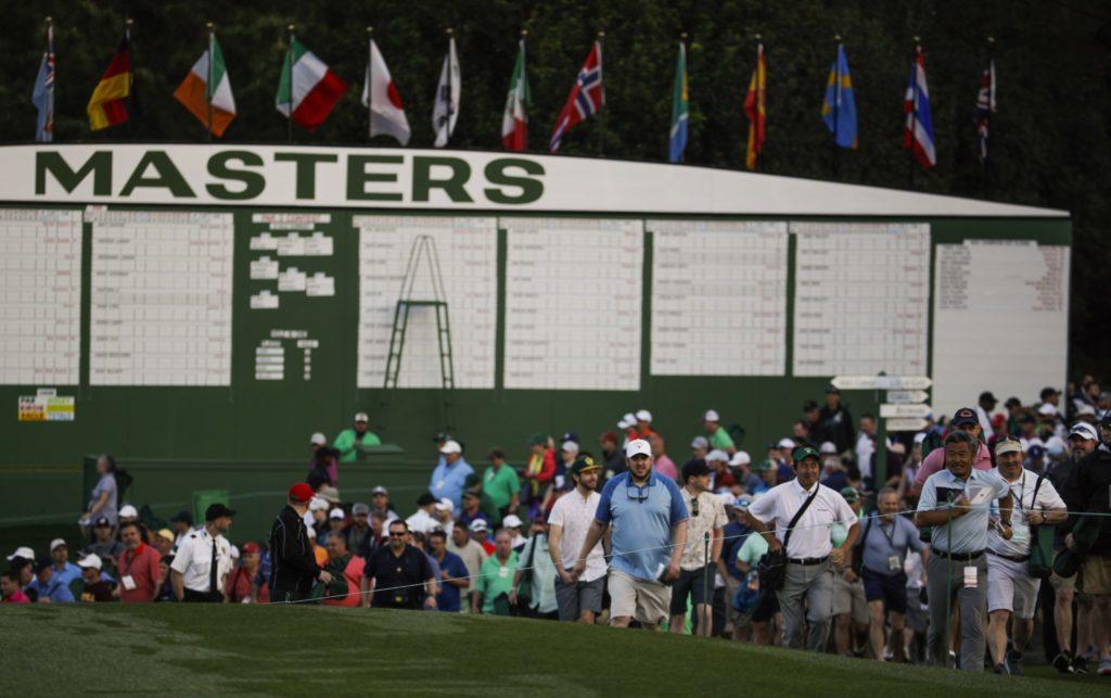 Masters, golf