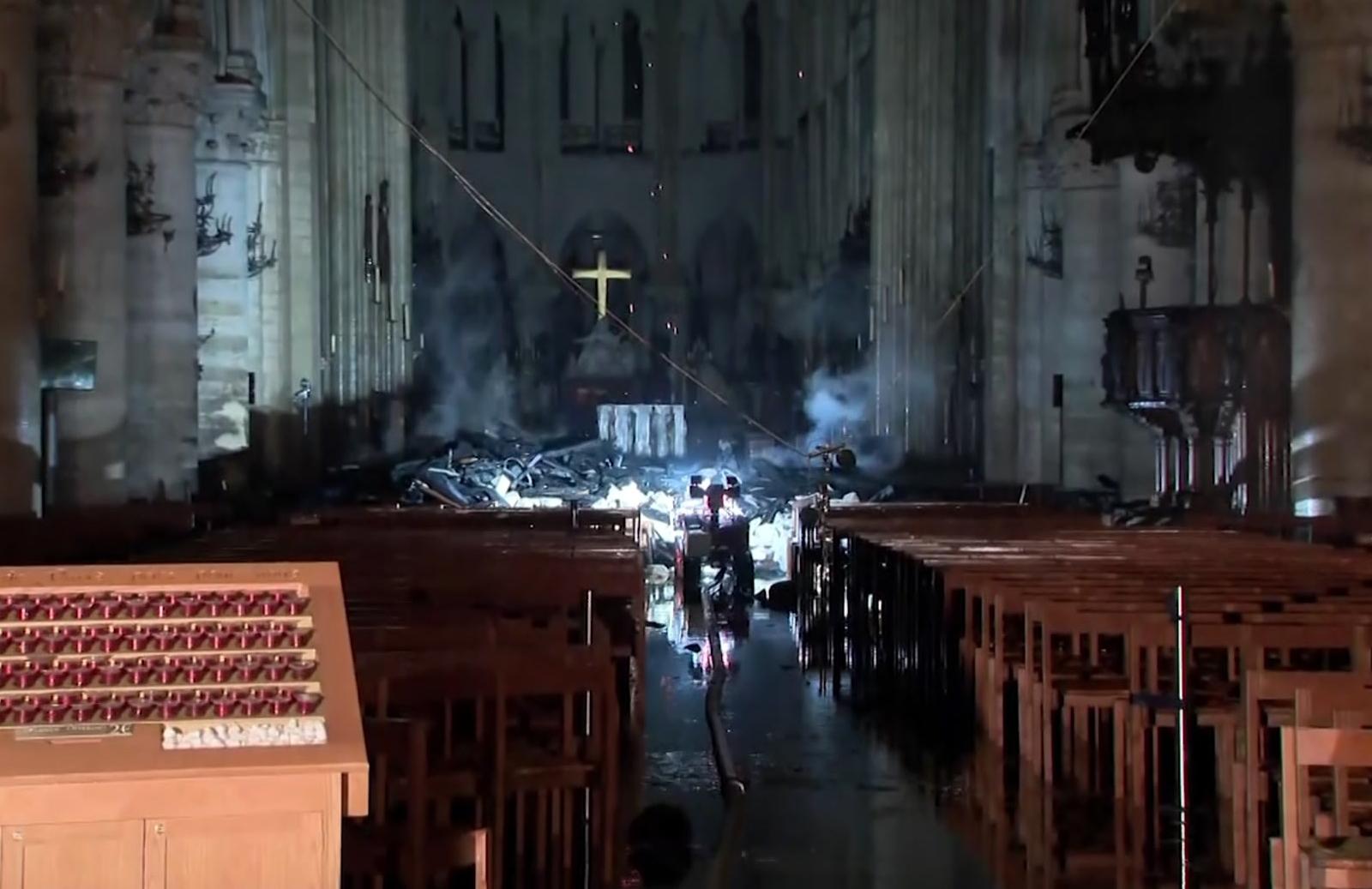 France Notre-Dame Fire