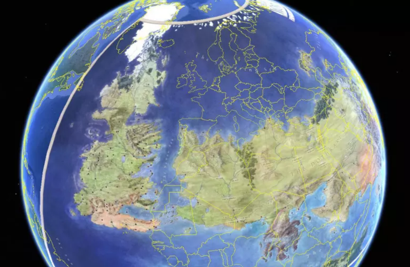Game of Thrones: Westeros Is Actually An Upside Down Ireland