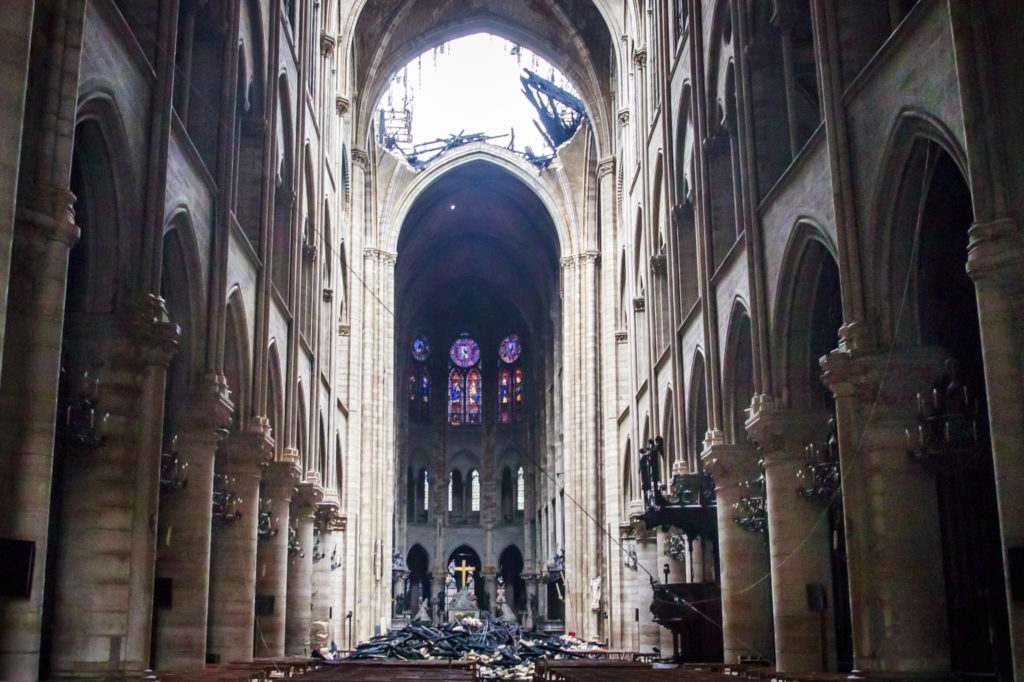 Notre Dame rebuilt