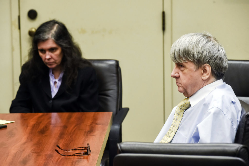 Turpin children read statements during sentencing of parents