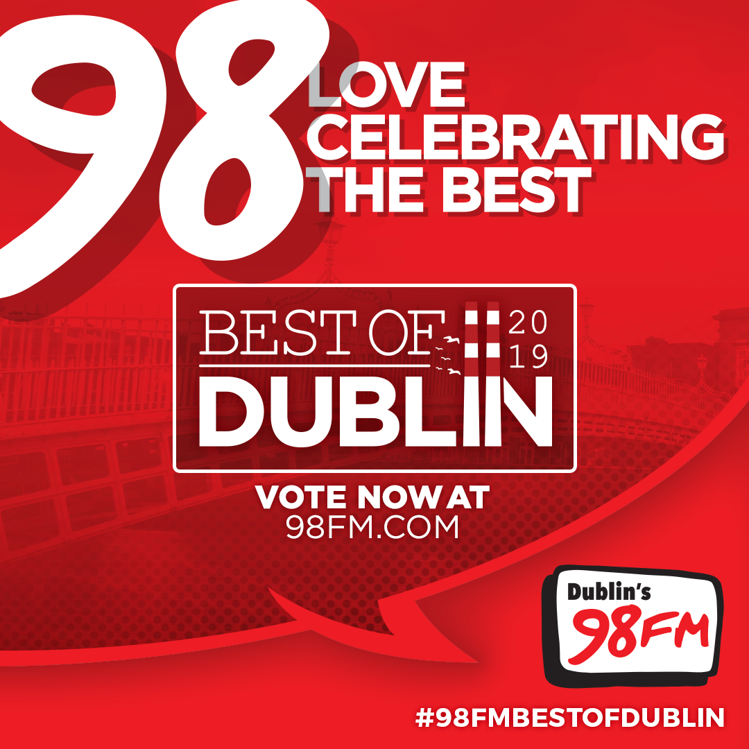 98FM, Dublin Hero, 98FM's Best Of Dublin Awards, Best Of Dublin,