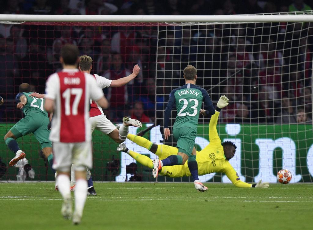 Tottenham, Ajax, Lucas Moura