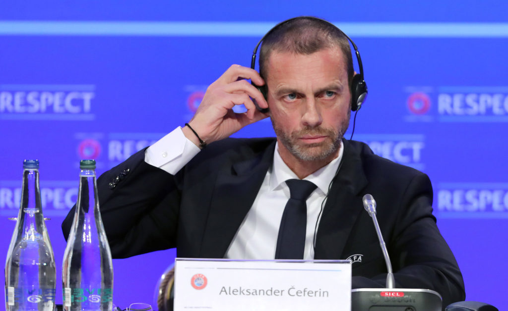UEFA, Aleksandar Ceferin