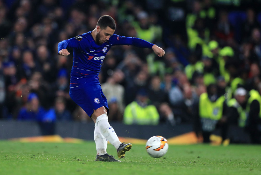 Eden Hazard, Chelsea, Europa league
