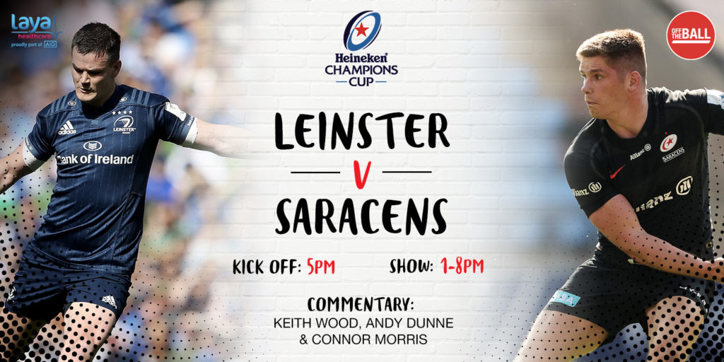 commentary, Leinster, Saracens