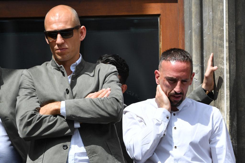 Arjen Robben, Franck Ribery, Bayern Munich