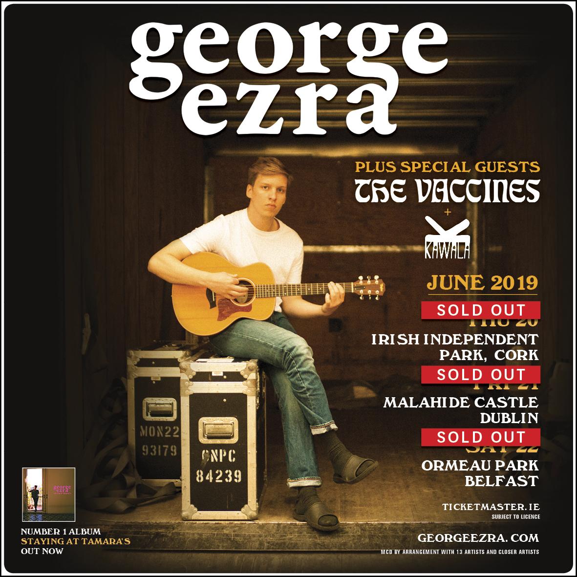 George Ezra,