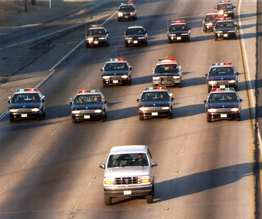 USA 94, car chase, OJ Simpson