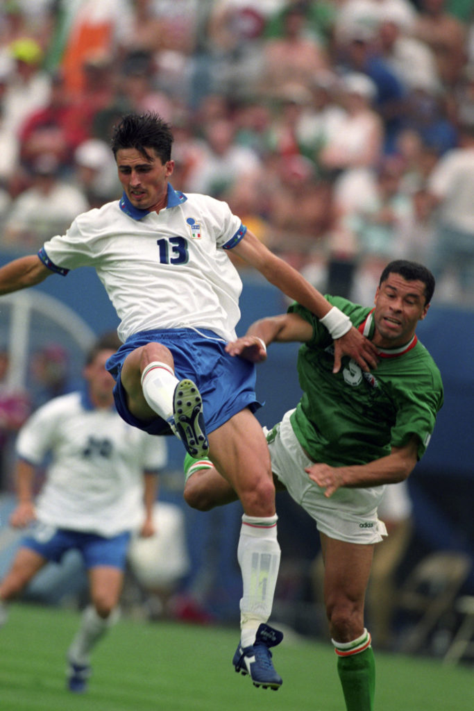 paul mcgrath, usa 94, ireland, italy, dino baggio