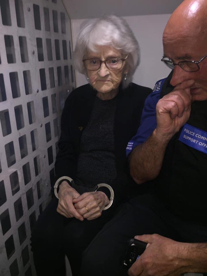 Elderly Woman Arrested