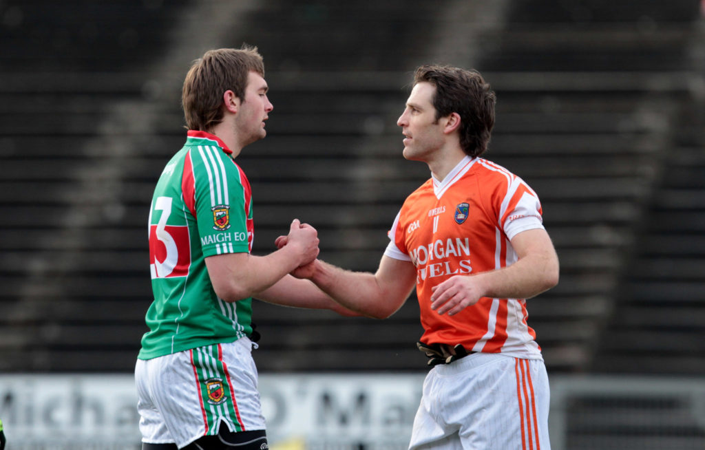 Billy Joe Padden, Mayo, Armagh, Aidan O'Shea