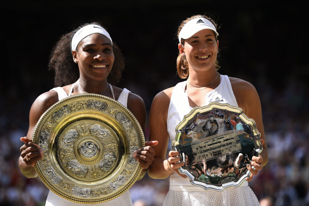 Serena Williams, Gabrine Muguruza, Wimbledon