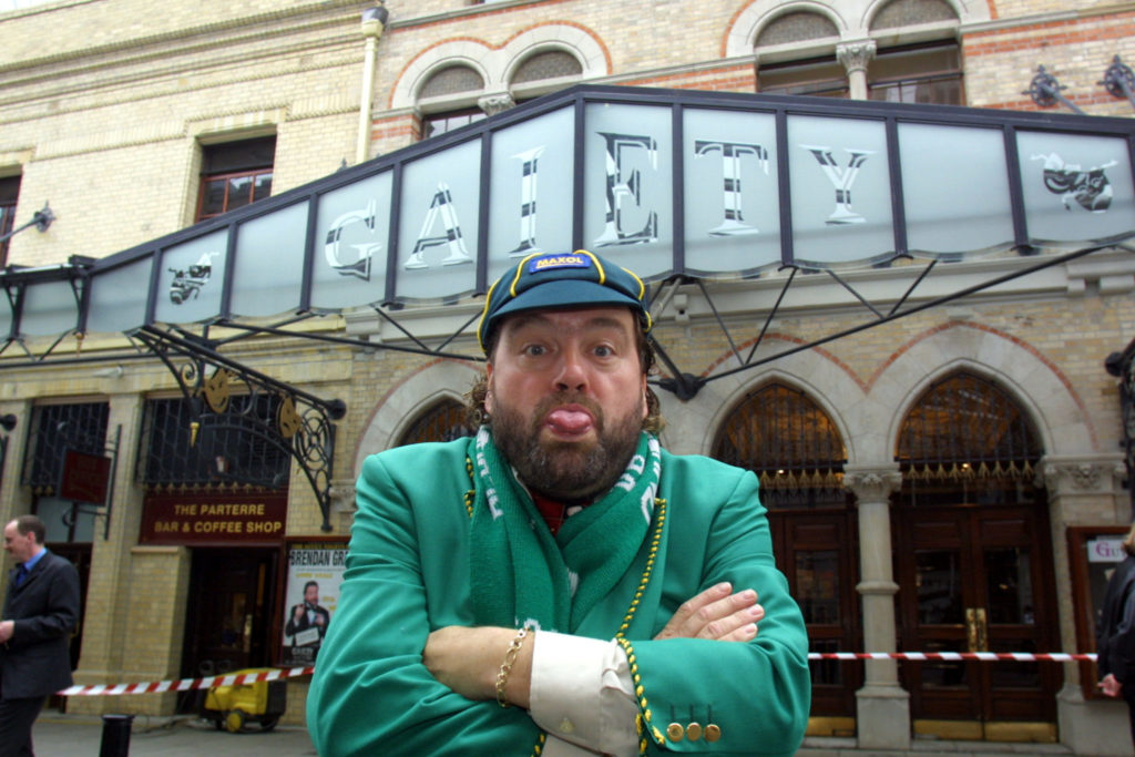 Comedian Brendan Grace has passed away