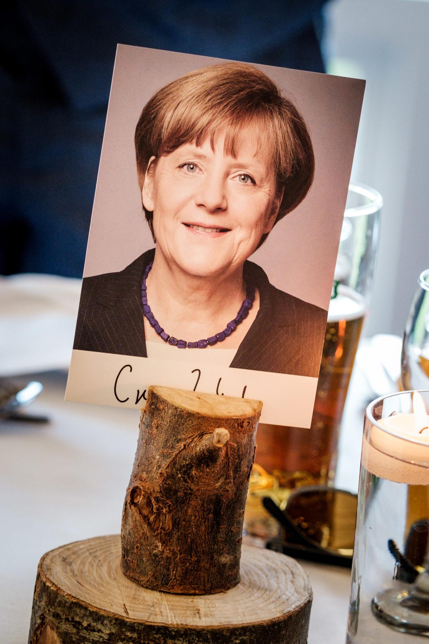 Angela Merkel flag