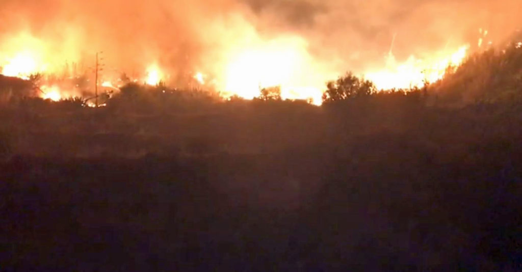 Gran Canaria wildfires lead to evacuations