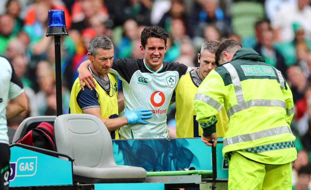 Joey Carbery, Ireland, Italy, injury