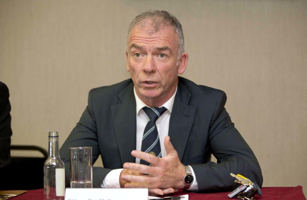 Pat McEnaney, referee