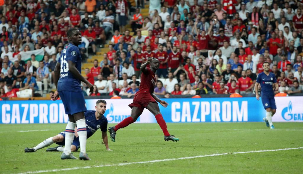 Sadio Mane, Super Cup, Chelsea, Liverpool