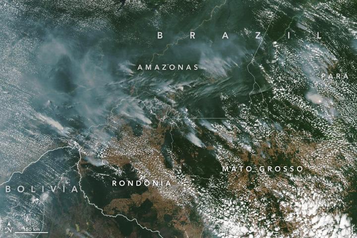 Amazon Fires NASA