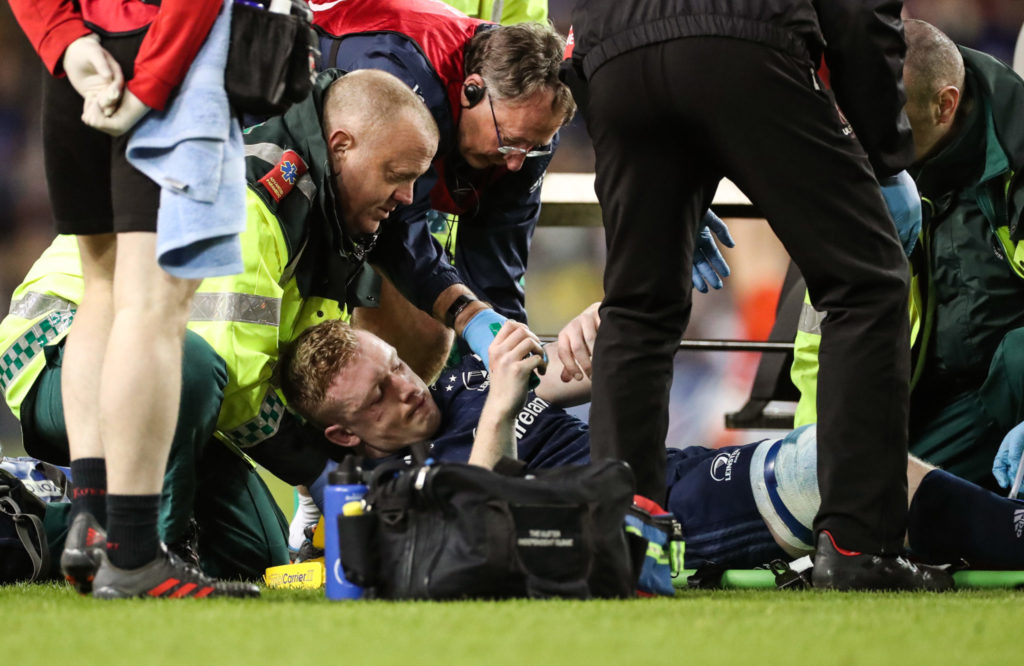 Dan Leavy, Leinster, injury