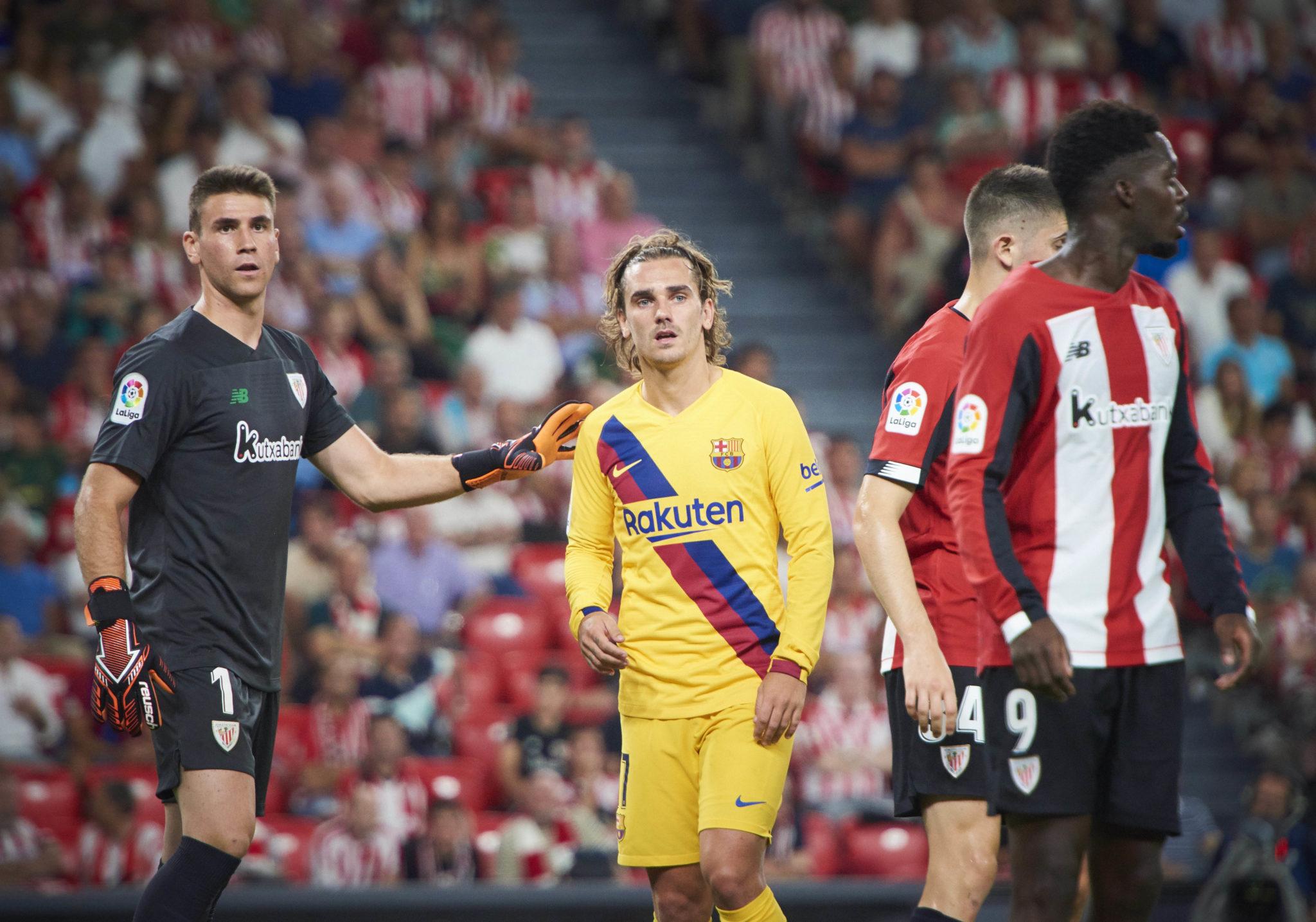 Barcelona forward, Antoine Griezmann