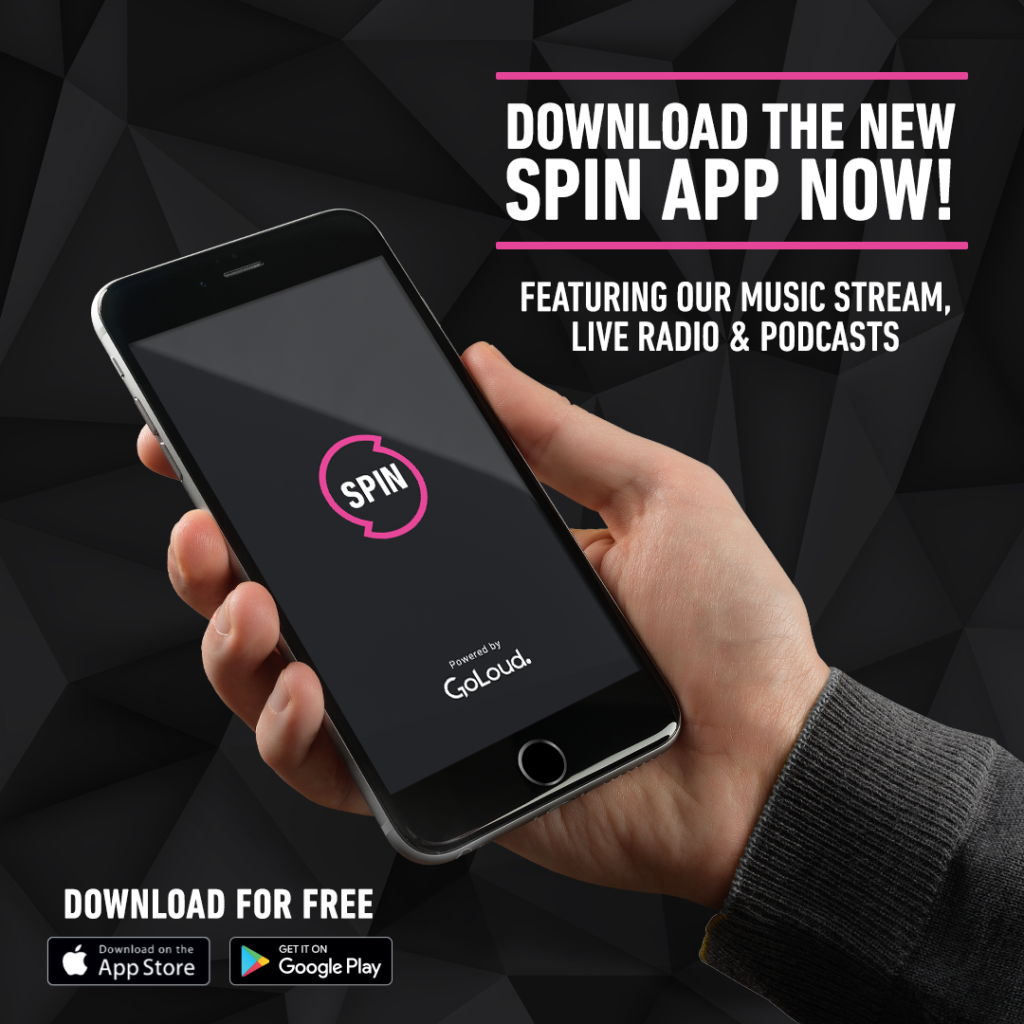 Download The Brand New SPIN 1038 App On iOS & Android | SPIN1038