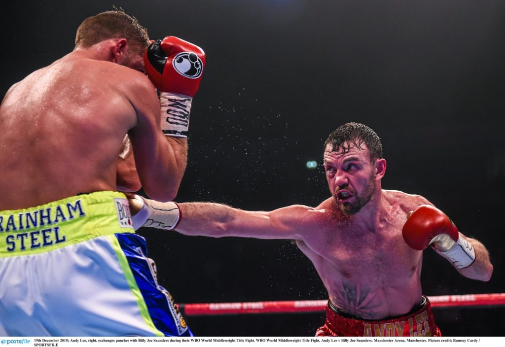 Andy Lee, boxing,