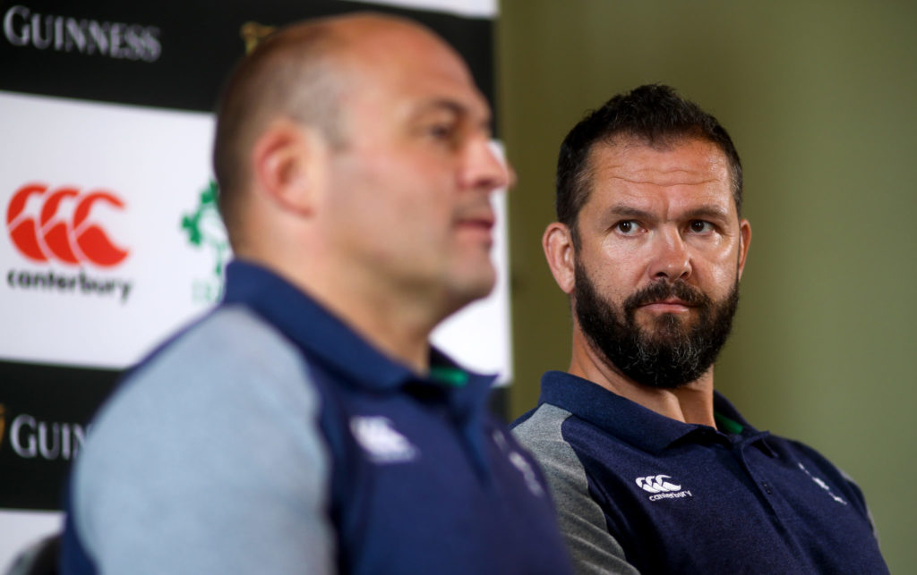 Andy Farrell, Rory Best