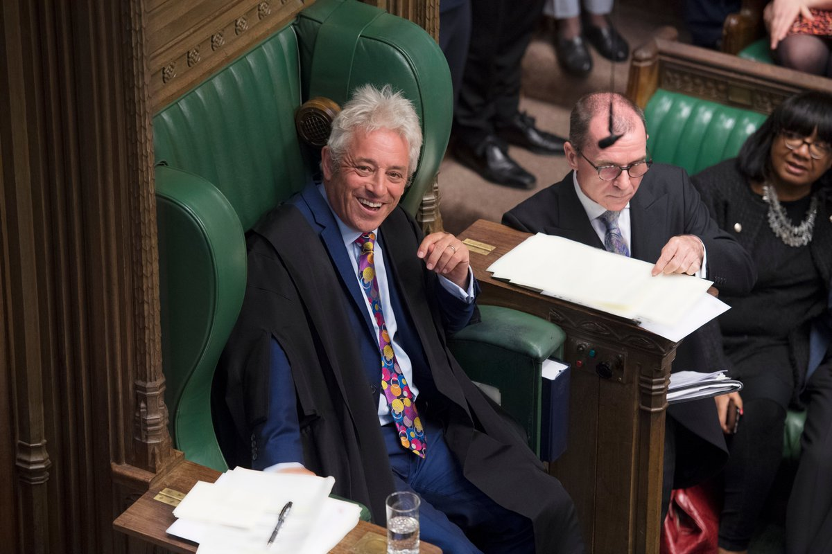 House of Commons Speaker John Bercow to stand down