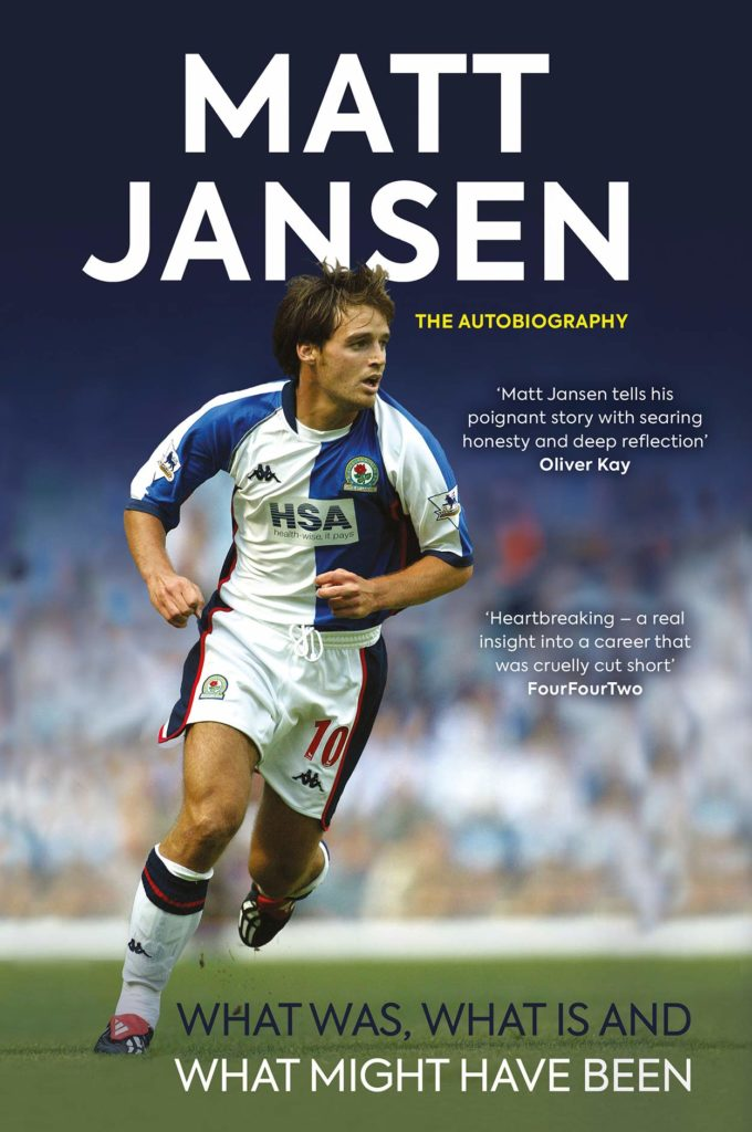 Matt Jansen, autobiography, book, Blackburn